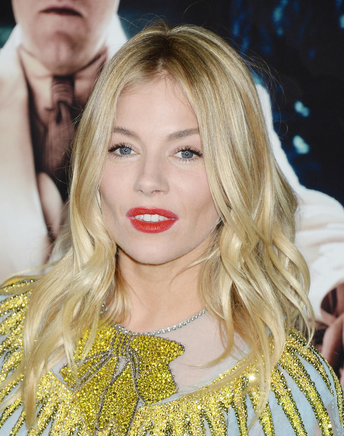 SIENNA MILLER at 'Live by Night' Premiere in Los Angeles ...