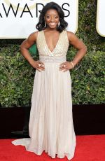 SIMONE BILES at 74th Annual Golden Globe Awards in Beverly Hills 01/08/2017
