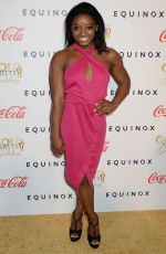 SIMONE BILES at Life is Good at Gold Meets Golden Event in Los Angeles 01/07/2017