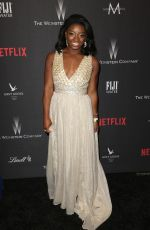 SIMONE BILES at Weinstein Company and Netflix Golden Globe Party in Beverly Hills 01/08/2017