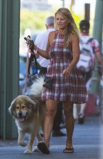 SIMONE CALLAHAN Walks Her Dog Out in Melbourne 01/12/2017