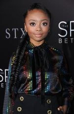 SKAI JACKSON at 'The Space Between Us' Premiere in Los Angeles 01/17/2017