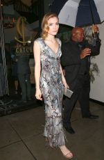 SKYLER SAMUELS at Catch LA in West Hollywood 01/10/2017
