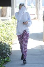 SOFIA RICHIE Leaves a Gym in Beverly Hills 01/24/2017