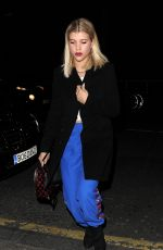 SOFIA RICHIE Night Out in London 01/19/2017