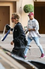 SOFIA RICHIE Out and About in Beverly Hills 01/30/2017