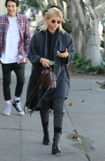 SOFIA RICHIE Out and About in Los Angeles 01/17/2017