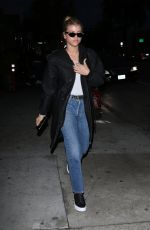 SOFIA RICHIE Out for Dinner in West Hollywood 01/09/2017