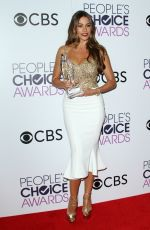 SOFIA VERGARA at 43rd Annual People's Choice Awards in Los Angeles 01/18/2017