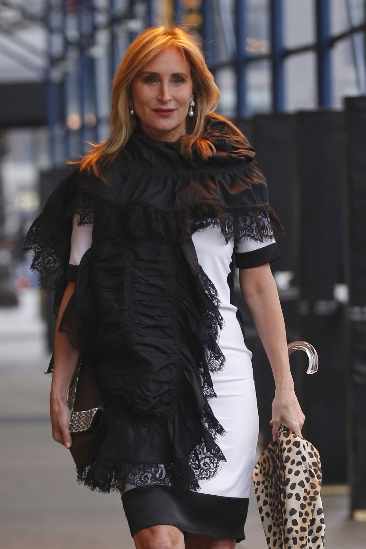SONJA MORGAN Out and About in New York 01/18/2017