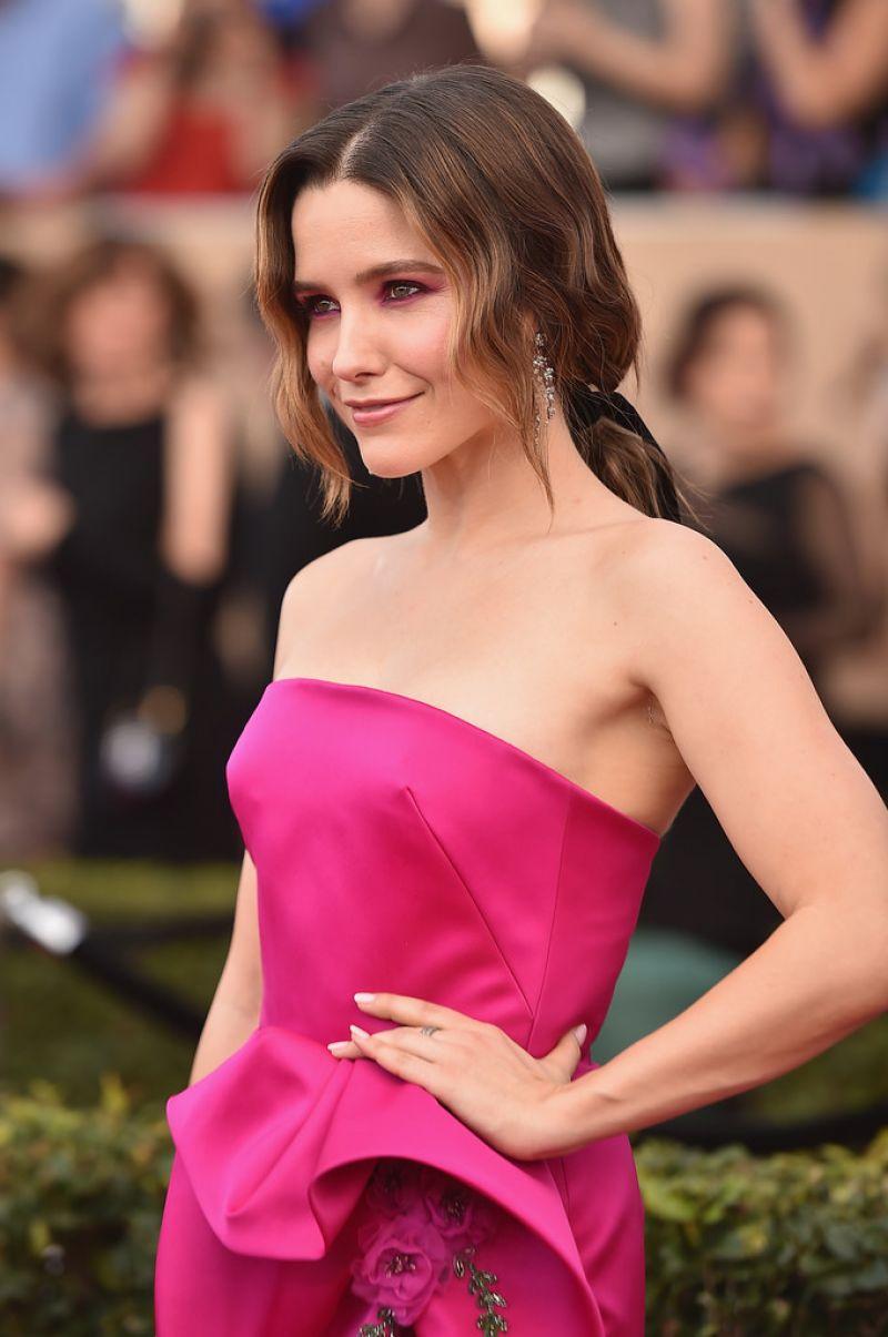 SOPHIA BUSH at 23rd Annual Screen Actors Guild Awards in ...