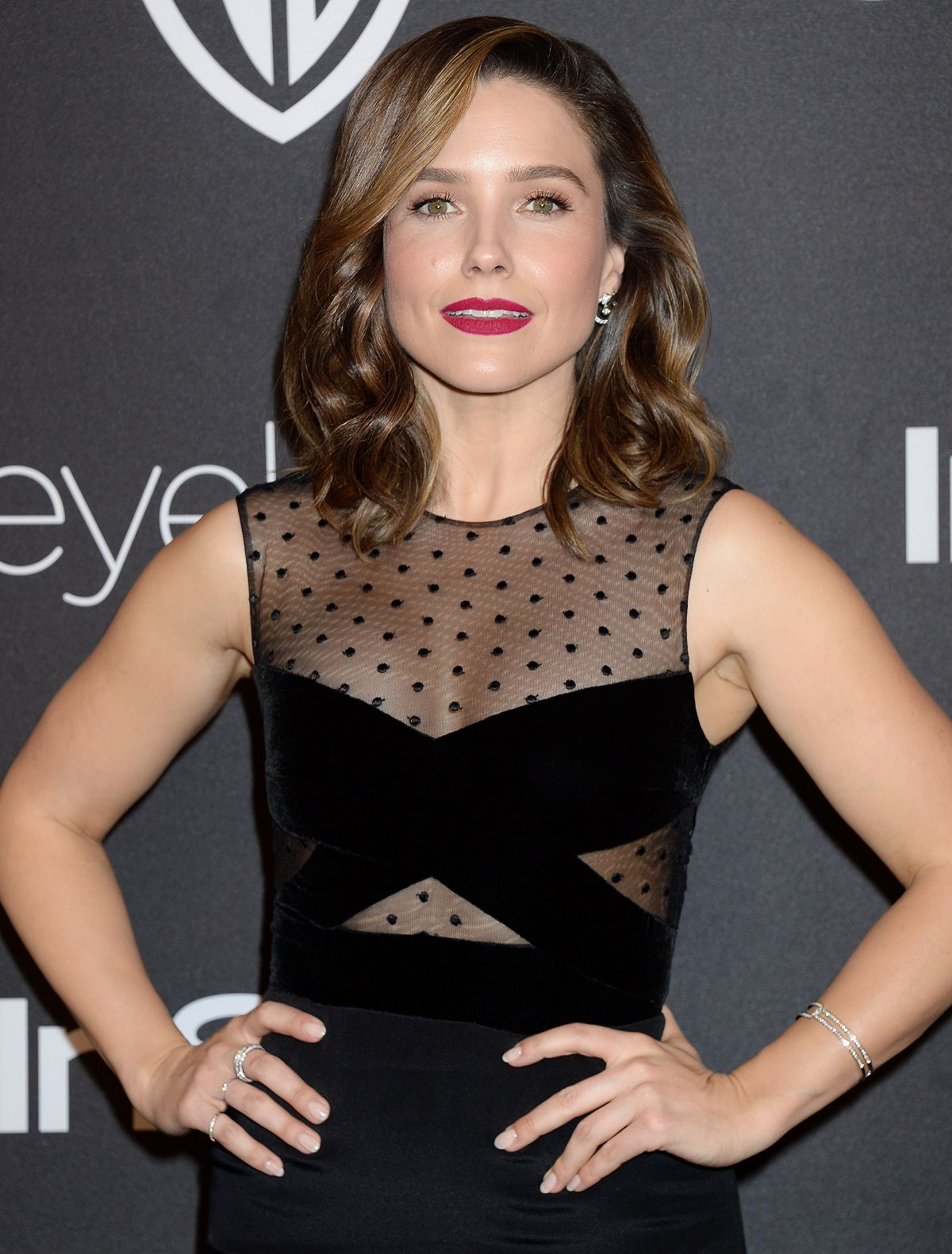 SOPHIA BUSH at Warner Bros. Pictures & Instyle's 18th Annual Golden Globes Party in Beverly Hills 01/08/2017