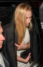 SOPHIE TURNER and Joe Jonas at Catch LA in West Hollywood 01/06/2017