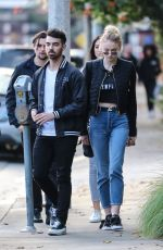 SOPHIE TURNER and Joe Jonas Out in Beverly Hills 01/05/2017