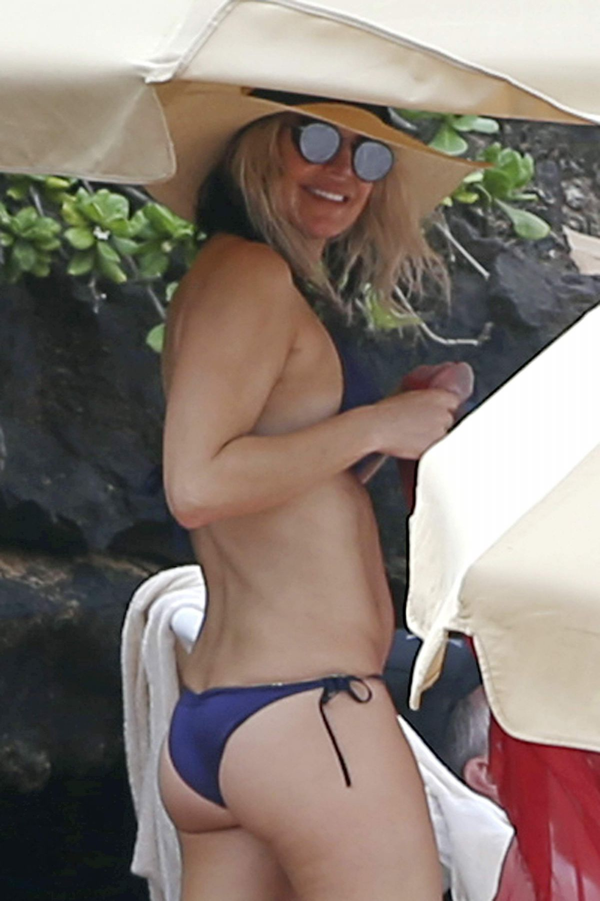 STACY FERGIE FERGUSON in Bikini at a Beach in Hawaii 12/31/2016