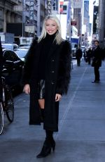 STASSI SCHROEDER aat SiriusXM Radio in New York 01/11/2017
