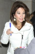 SUSAN LUCCI Out and About in New York 01/16/2017