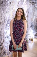 SUTTON FOSTER at Bronwen Smith of B Floral Hosts a Private Winter Wonderland Event in New York 01/26/2017