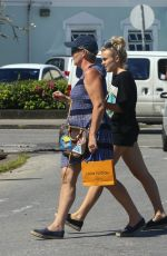 TALLIA STORM Out for Shopping in Barbados 01/02/2017