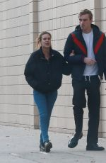 TALLULAH WILLIS and Morgan MacDonald Out in Los Angeles 12/31/2016