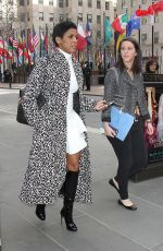 TAMRON HALL Out and About in New York 01/30/2017