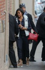 TARAJI P. HENSON Arrives at Jimmy Kimmel Live in Hollywood 01/03/2017