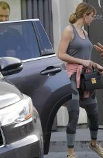 TAYLOR SWIFT in Tights Leaves a Gym in West Hollywood 01/11/2017