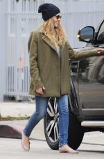 TERESA PALMER Out and About in Los Angeles 01/10/2017