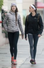 TERI HATCHER and Her Daughter EMERSON TENNEY Out in Studio City 01/10/2017