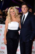 TESS DALY at National Television Awards in London 01/25/2017