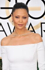 THANDIE NEWTON at 74th Annual Golden Globe Awards in Beverly Hills 01/08/2017
