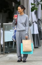 THANDIE NEWTON Out Shopping in Beverly Hills 01/09/2017