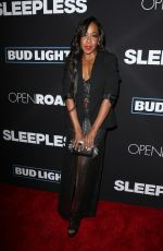 TICHINA ARNOLD at 'Sleepless' Premiere in Los Angeles 01/05/2017