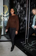 TIKA SUMPTER at Catch LA in West Hollywood 01/16/2017