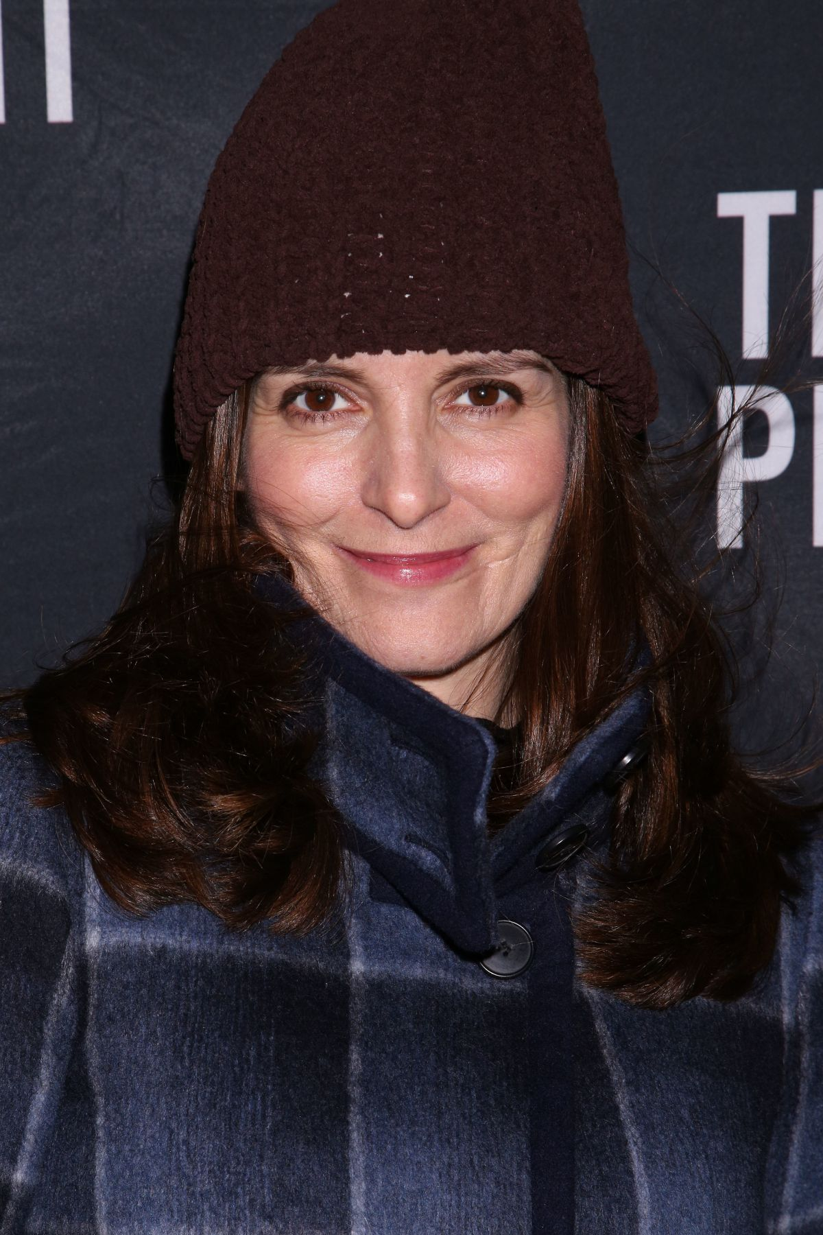 TINA FEY at The Present Opening Night Party in New York 01/08/2017