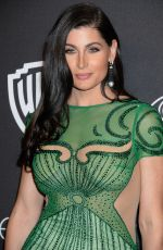 TRACE LYSETTE at Warner Bros. Pictures & Instyle's 18th Annual Golden Globes Party in Beverly Hills 01/08/2017