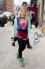 TRACY ANDERSON Heading to a Gym in New York 01/27/2017