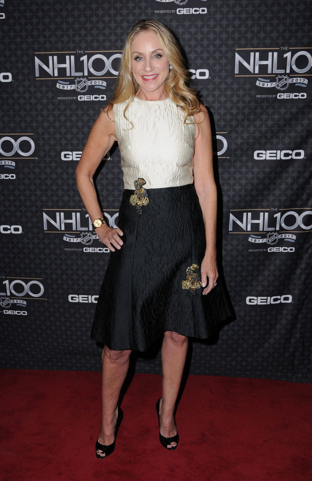 TRACY POLLAN at NHL 100 Presented by Geico at Microsoft Theater 01/27/2017
