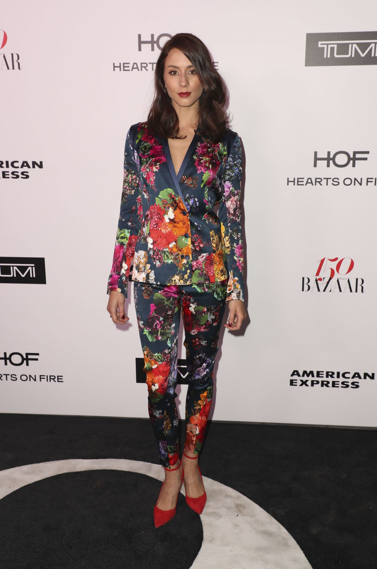 TROIAN BELLISARIO at Harper's Bazaar 150 Most Fashionable Women Party in Hollywood 01/27/2017