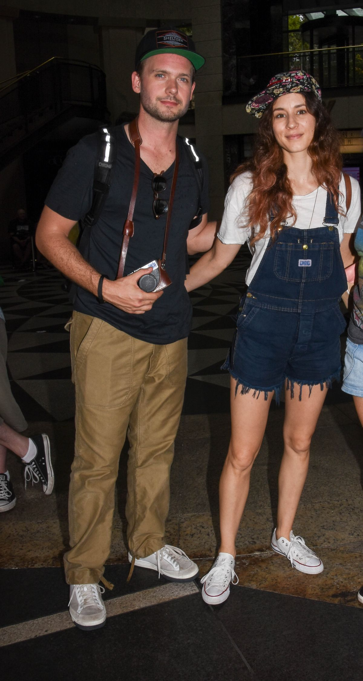 TROIAN BELLISARIO Out in Sydney 01/05/2017
