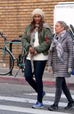 TYRA BANKS Out and About in Venice Beach 01/04/2017