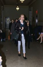 UMA THURMAN at a Court in New York 01/23/2017