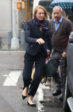 UMA THURMAN Out and Abut in New York 01/17/2017