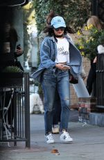 VANESSA HUDGENS in Jeans Out in West Hollywood 01/21/2017