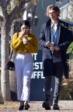 VANESSA HUDGENS Out and About in Studio City 01/01/2017