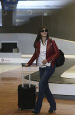 VANESSA PARADIS, LILY-ROSE DEPP and MONICA BELLUCCI ar CDG Airport in Paris 01/11/2017