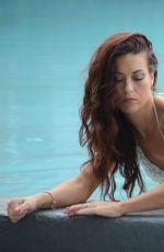 VICTORIA BANX in Bikini at a Pool in Miami 01/12/2017
