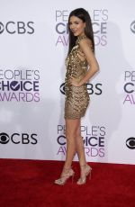 VICTORIA JUSTICE at 43rd Annual People's Choice Awards in Los Angeles 01/18/2017