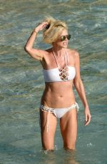 VICTORIA SILVSTEDT in Bikini on the Beach in St. Barts 01/17/2017