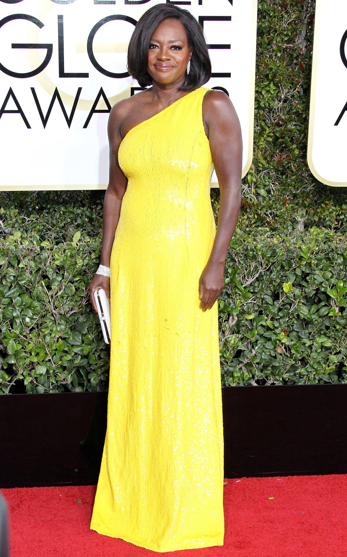 VIOLA DAVIS at 74th Annual Golden Globe Awards in Beverly Hills 01/08/2017